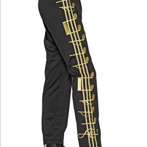 Adidas Jeremy Scott Music Notes Pants Size XL